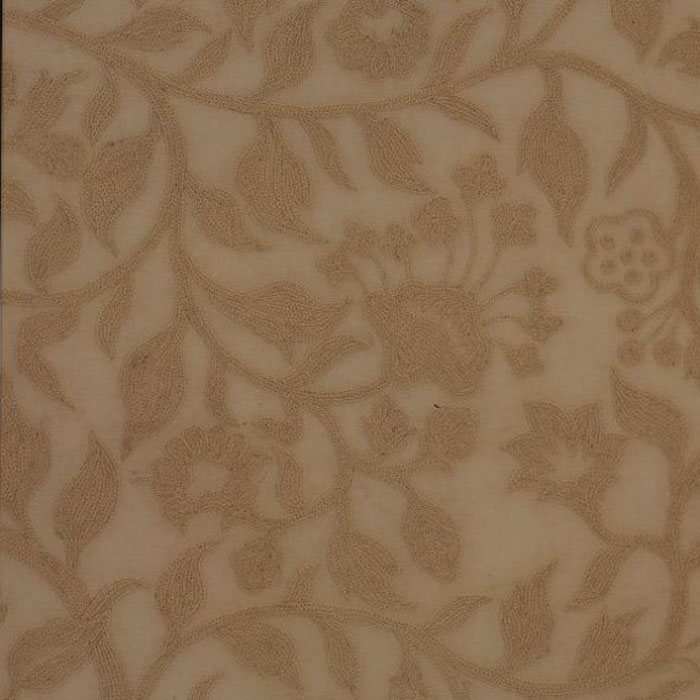Malabar Crewel Work Curtain Fabric From Linen Lace And