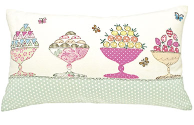 scrapbook sweet treats cushion cover