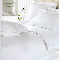 chelsea white cotton duvet cover