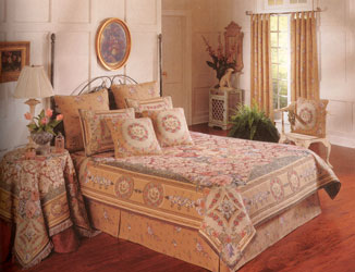 chambord tapestry bedspread