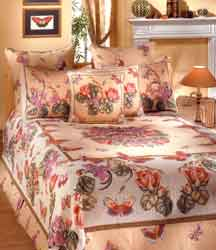 papillon tapestry bedspread