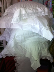 lace pillowcase group