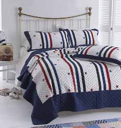 houston stars and stripes patchwork bedspread