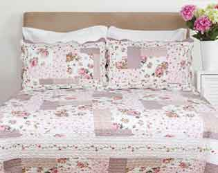 martha rose patchwork quilt