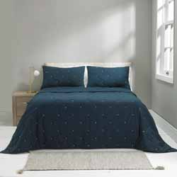 madison indigo bedspread