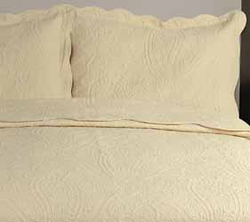 sorrento calico quilted bedspread