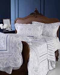vienna toile quilted bedspread