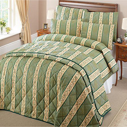 hotel quality bedspread and duvet cover green popular with guest houses and country hotels