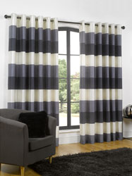 rio navy eyelet curtains