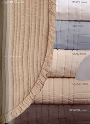 devon bedspread swatches