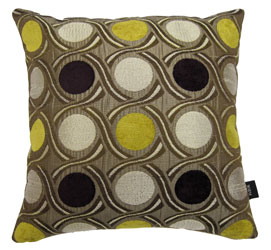 cairo saffron cushion cover