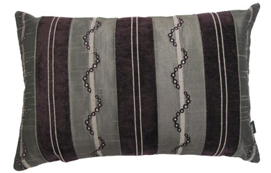 livomo aubergine cushion cover