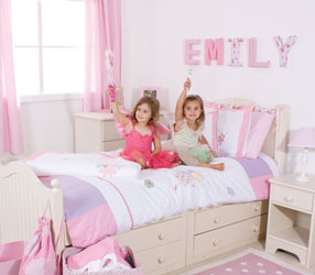 fairy childrens bedroom setting