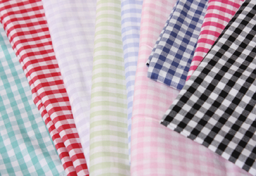 gingham range of childrens bed linen