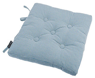 auberge buttoned seat pad wedgwood blue