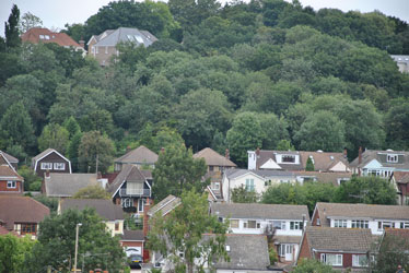 view of vicarage hill