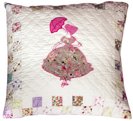 parasol patchwork cushion cover