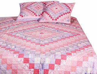 trip around the world patchwork quilt