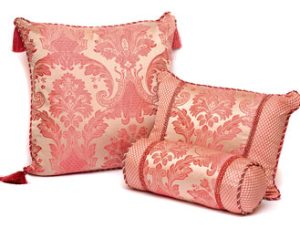 carrington rose cushions range large, rectangular and neck roll bolster
