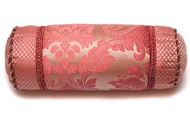 carrington rose neck roll bolster