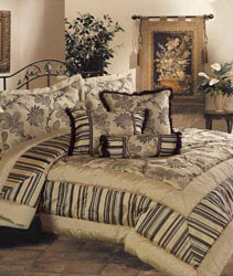 range of bedspreads with matching curtains, duvet covers and valances