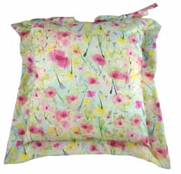 spring blossoms oxford seat pad