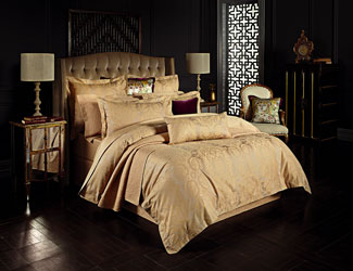 Siam duvet cover and cushions