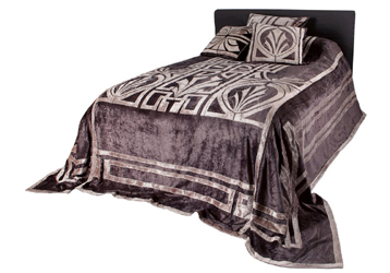 hollywood superking velvet bedspread