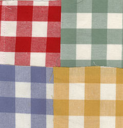 gingham swatches