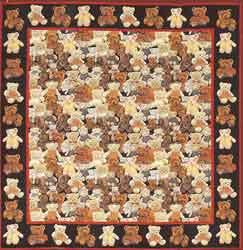 bears tapestry throw