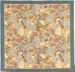 flower fairy tapestry throw