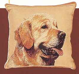 labrador cushion cover