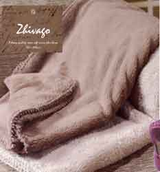 zhivago fleece throw