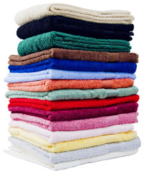 luxury range of hand, bath towels and bath sheets
