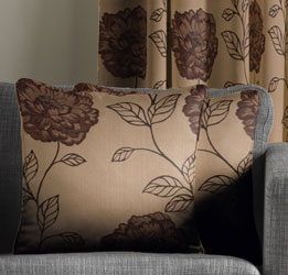 alison aubergine cushion cover