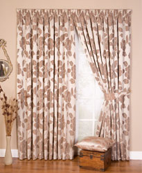 arundel mocha readymade curtains