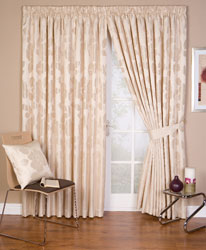 arundel neutral ready made curtains