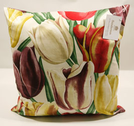 early tulips william morris cushions